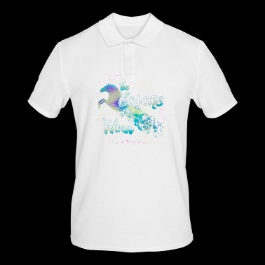 Horse The Color of the Wind - Men's Polo Shirt