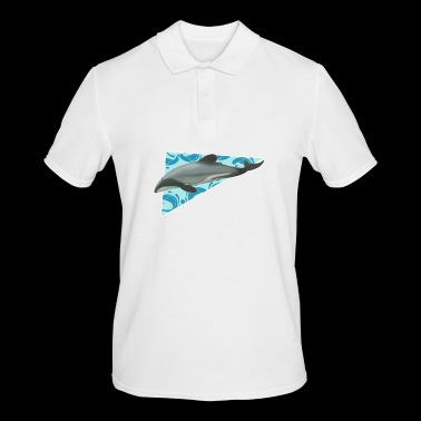 Dolphin - ocean - mammal - Men's Polo Shirt
