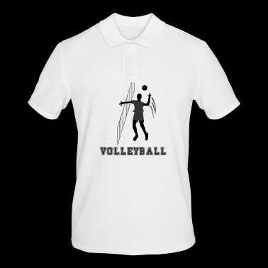 volley ball - Men's Polo Shirt