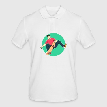 Skateboard skateboarding - Men's Polo Shirt