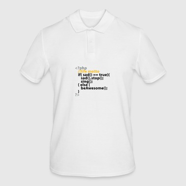php life motto - Men's Polo Shirt