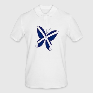 Scottish Butterfly - Men's Polo Shirt