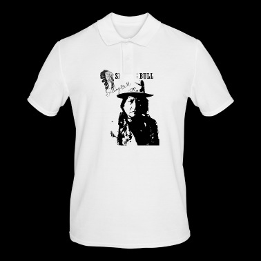 sitting Bull - Men's Polo Shirt