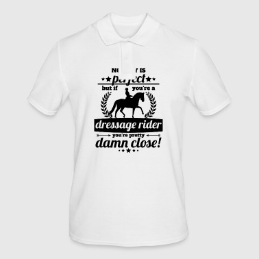 dressage rider perfect - gift - Men's Polo Shirt