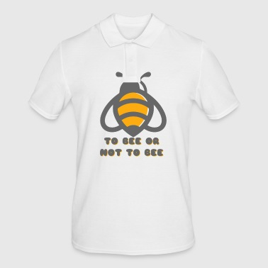 To Bee Or Not To Bee - Men's Polo Shirt