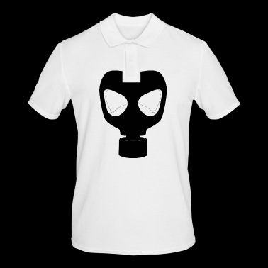 gas mask - Men's Polo Shirt