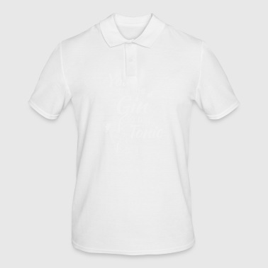 Gin Tonic You are the gin to my tonic white - Men's Polo Shirt