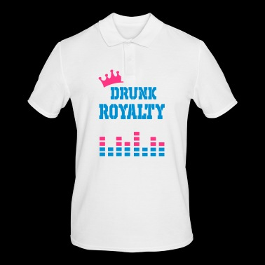 drunk royalty - Men's Polo Shirt