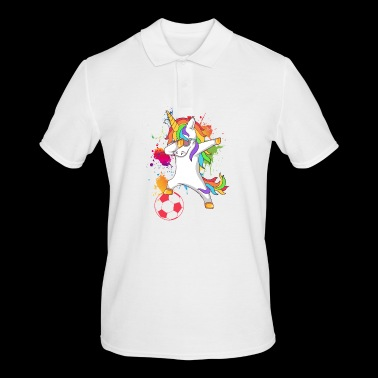 Tamponner, football, licorne - Polo Homme