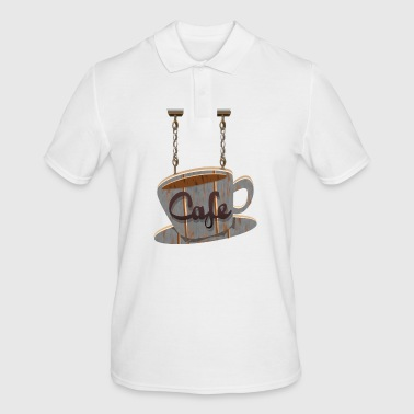 Cafe - Men's Polo Shirt
