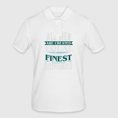 Receptionist Reception desk Receptionist reception - Men's Polo Shirt