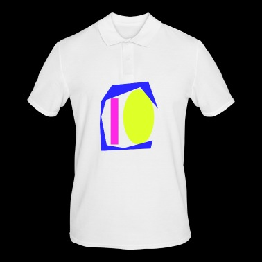 Colorful shapes - Men's Polo Shirt