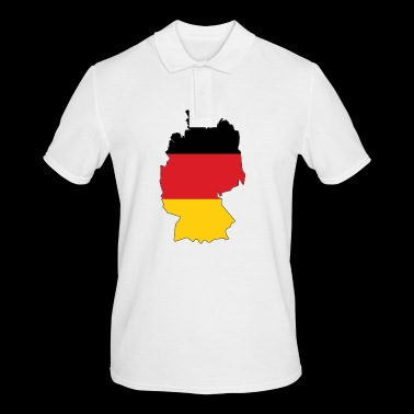 Germany map - Men's Polo Shirt