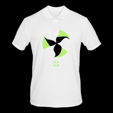 change to green Nuclear power no wind energy yes - Men's Polo Shirt