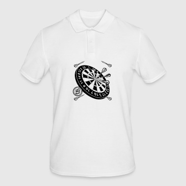 Dart bullseye player darts - Men's Polo Shirt