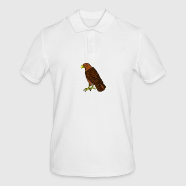 sitting raptor - Men's Polo Shirt