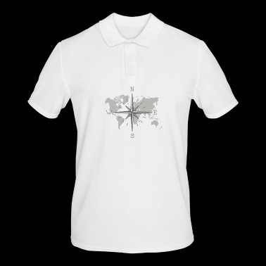 Map - Men's Polo Shirt