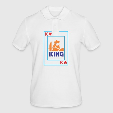 KING playing card - Men's Polo Shirt