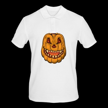 Pumpkin - pumpkin - Men's Polo Shirt