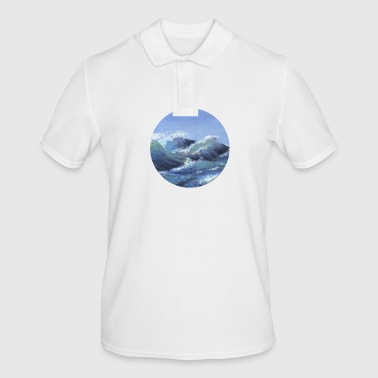 the sea - Men's Polo Shirt
