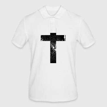 Cross Grunge Cross / Cross - Men's Polo Shirt
