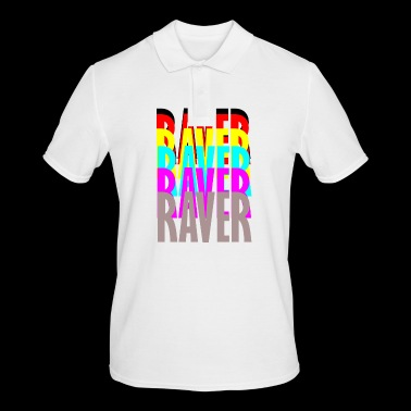 raver raver raver raver - Men's Polo Shirt