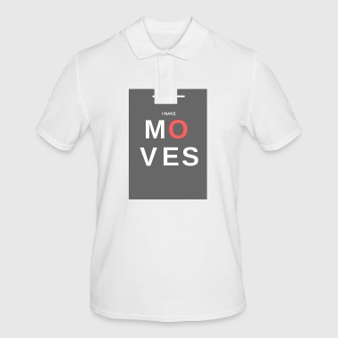 MOVES - Men's Polo Shirt