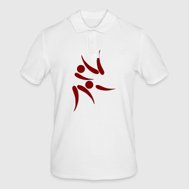 karate martial arts thai boxing ninja kickboxing10 - Men's Polo Shirt