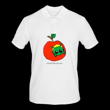 Pomette the caterpillar - Men's Polo Shirt
