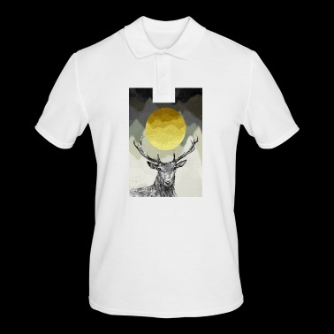 Deer king of the forest - Men's Polo Shirt