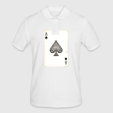 Games Card Ace Of Spades - Men's Polo Shirt