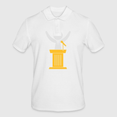 A Politician Speaks To His Constituents - Men's Polo Shirt
