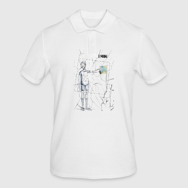 Tourist Man - Men's Polo Shirt