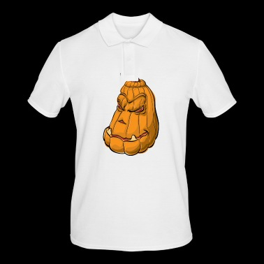 pumpkin and pumpkin - Men's Polo Shirt