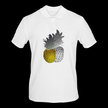 Ananas à l'huile - Polo Homme