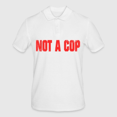 not a cop no policeman - Men's Polo Shirt
