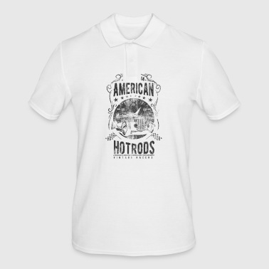 AMERICAN HOTRODS - Hotrod shirt design - Men's Polo Shirt