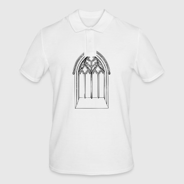 Church window - Men's Polo Shirt