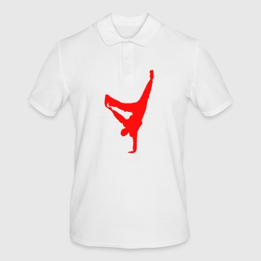 break dancing - Men's Polo Shirt