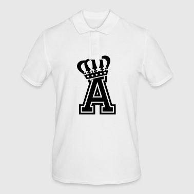 Letter a - Men's Polo Shirt
