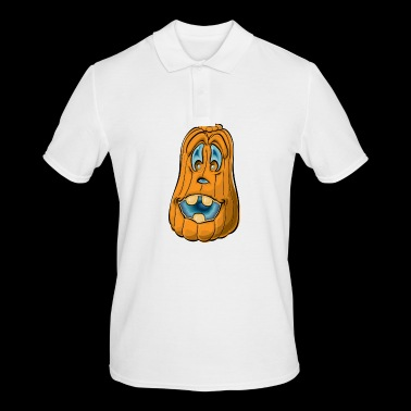 Pumpkin with pumpkin - Men's Polo Shirt