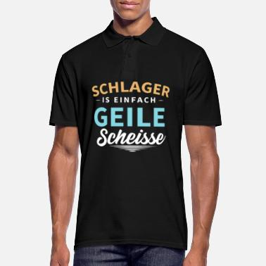 German Schlager Schlager - Men's Polo Shirt