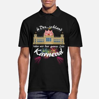 Carneval Carnival in the Bundestag circus politics in Berlin - Men's Polo Shirt