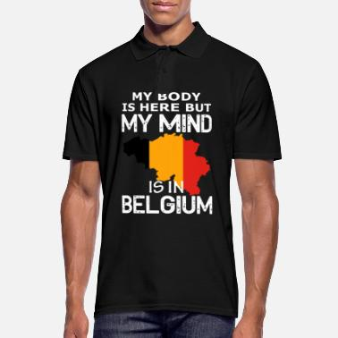 Country belgium country and countries - Men's Polo Shirt