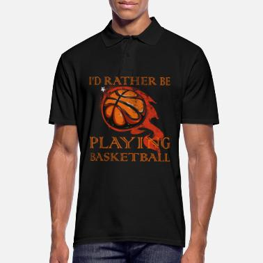 Basket basketball hobby - free time - Men's Polo Shirt