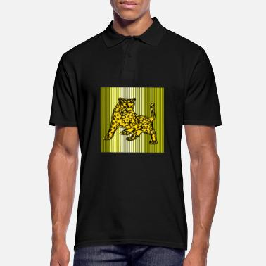 Lion leopard - Men's Polo Shirt