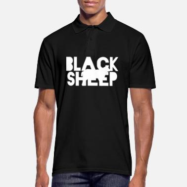 Unemployed Black Sheep | Black sheep Funny gift - Men's Polo Shirt