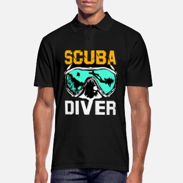 Scuba diving - Men's Polo Shirt