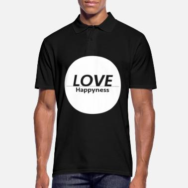 Happiness Love & Happiness - Polo Homme