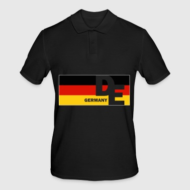Germany flag german flag flag german - Men's Polo Shirt